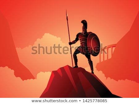 This Is Sparta Stock photo © albund