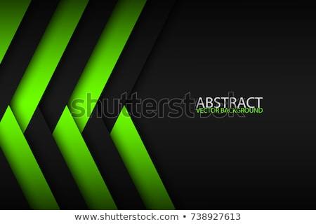 Abstrato azul camadas acima outro moderno Foto stock © kurkalukas