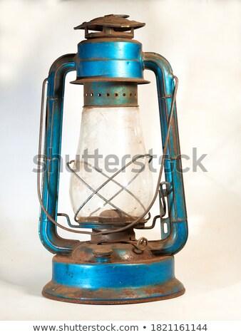 Lámpás öreg sötét világítás hő Stock fotó © milisavboskovic
