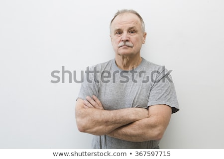 Serious portrait of man, real people Stock photo © stevanovicigor
