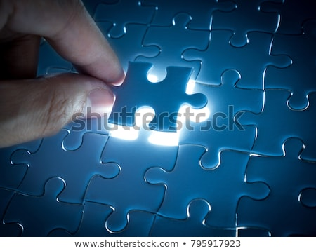 Puzzle Business Solution Concept Stock photo © Lightsource