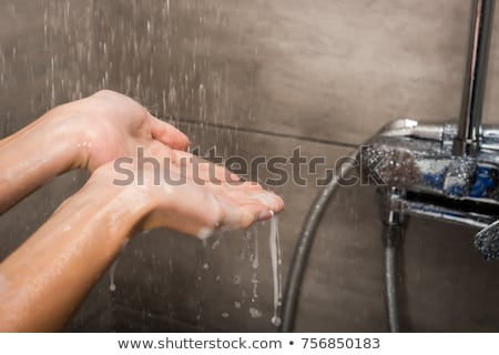People showering in spa Stock photo © IS2