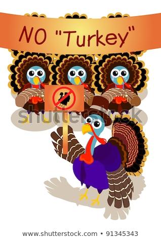 Szomorú rajz Törökország zarándok illusztráció néz Stock fotó © cthoman
