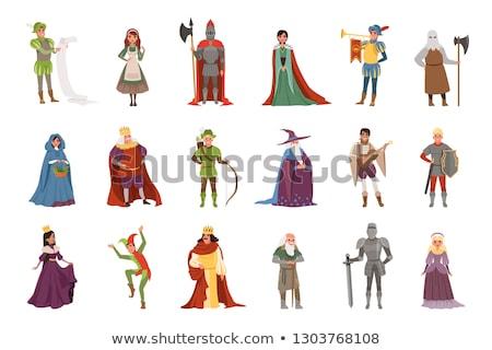 cartoon fantasy characters set stock photo © izakowski