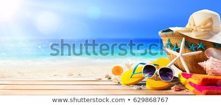夏 ビーチ 夏場 ライフスタイル オブジェクト ストックフォト © netkov1