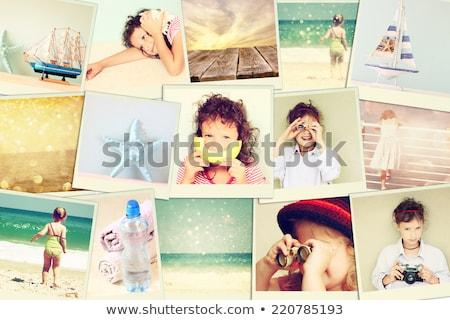 Diferente vidro grupo foto anel Foto stock © magraphics