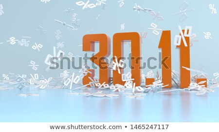 Deadline Car Insurance 30 November Percents Stock photo © limbi007