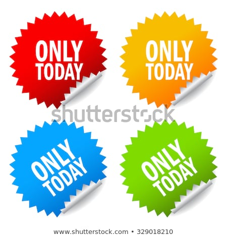 limited time only buy now discount promo label stock photo © robuart