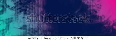 abstract flowing halftone dots wave background design Stock photo © SArts