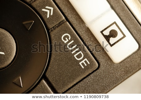 tv guide and television stock photo © cidepix