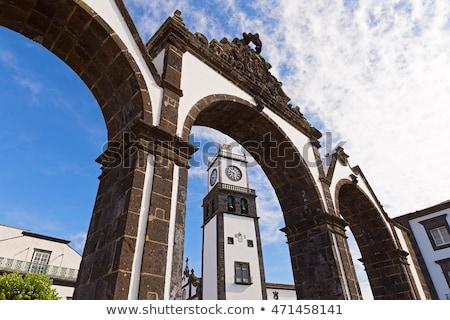 Historical Entrance - Ponta Delgada Stock photo © hsfelix