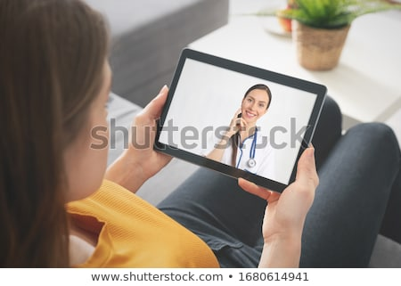 Young male doctor in telehealth concept Stock photo © Elnur
