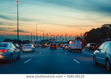 city and road in mobile Stock photo © pkdinkar