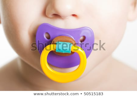 baby silicone pacifier. Isolated on white  Stock photo © inxti