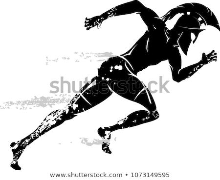 Spartan runners Stock photo © sahua