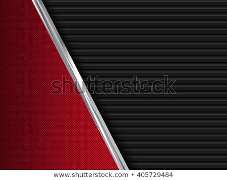 Structured metallic dark perforated sheet Stock photo © Ecelop