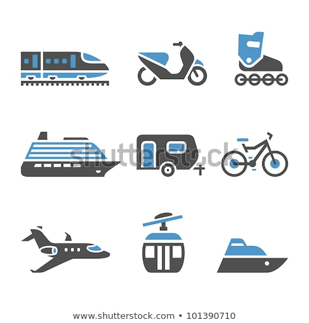 Transport Icons - A set of fifth stock photo © Ecelop