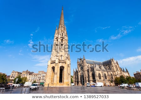 Bordeaux Saint Michel cathedral Stock photo © smithore