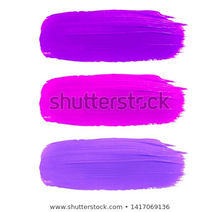 Acrylic paint symbols set Stock photo © Taigi