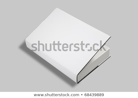 livre · blanche · couvrir · bureau - photo stock © shutswis