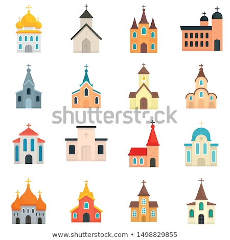 House for priests Stock photo © Witthaya