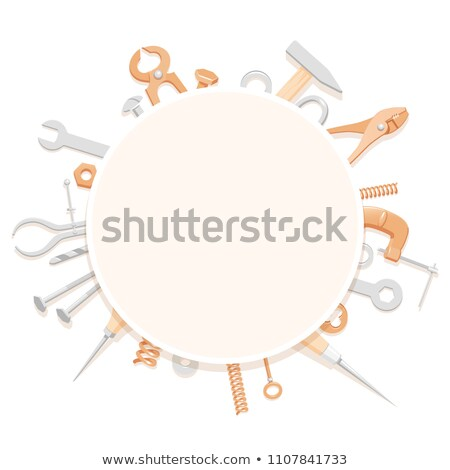 Content builder with tools. stock photo © photography33