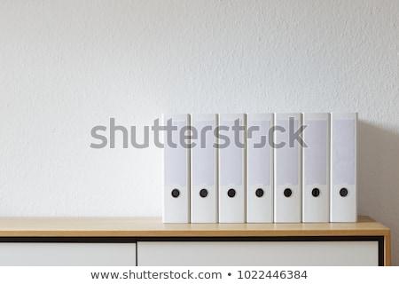 Archival documents folders Stock photo © ultrapro