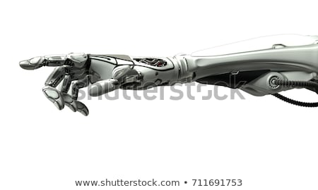 Robot Hand Pointing Stock photo © AlienCat