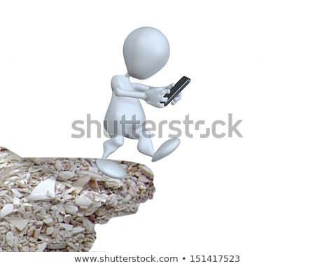 empresario · número · celular · teléfono · trabajo · fondo - foto stock © digitalgenetics