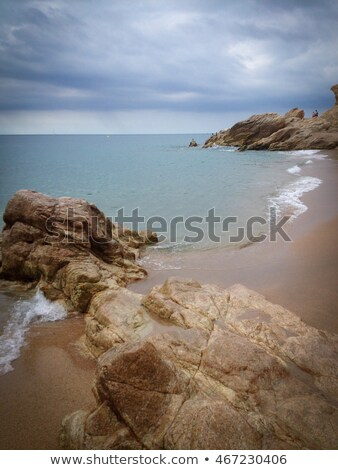 La plage Espagne août 17 2011 Photo stock © nito