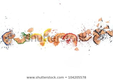 Colour Pencils and Shavings  Stock photo © luminastock