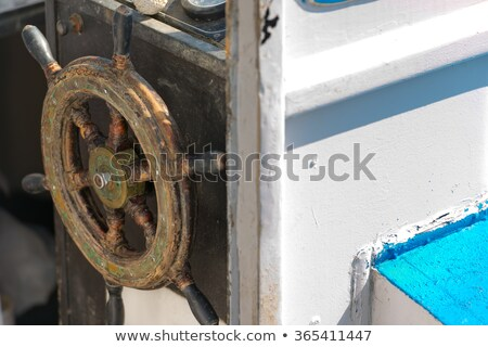 halászhajók · tó · kék · halászat · kínai · fehér - stock fotó © lunamarina