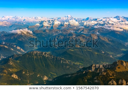 Alps from the plane Stock photo © MikLav