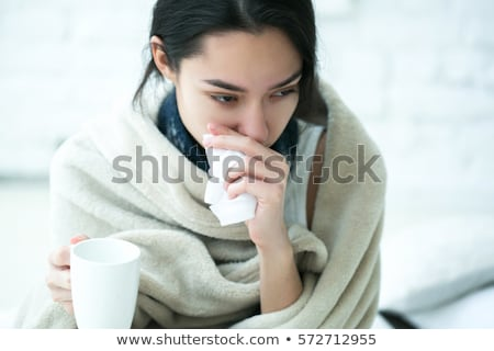 Winter Flu Virus Stock photo © Lightsource
