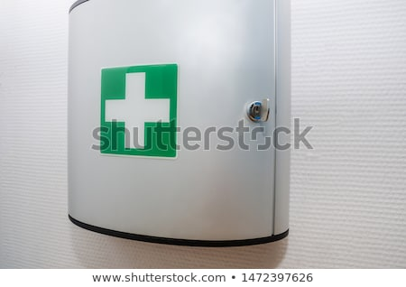 first aid medical essentials on a white background Stock photo © pxhidalgo