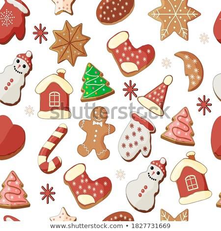 Stock fotó: Vidám · karácsony · üdvözlőlap · szív · angyal · csillagos