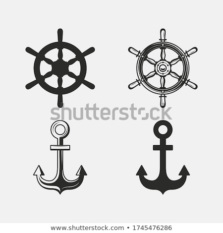 Modern Ship Anchor Stock photo © rghenry