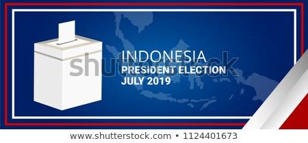 Ballot box Indonesia  Stock photo © Ustofre9