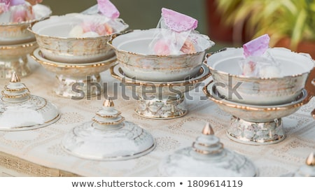 Stock photo: Ceremonial Offering Bowl