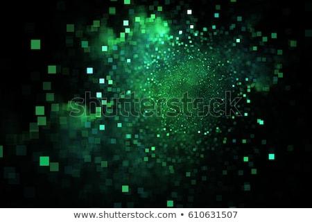 Vert fractal image couleurs résumé Photo stock © hlehnerer