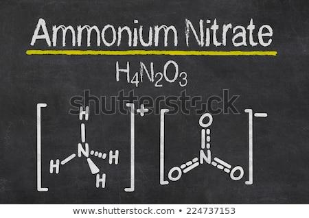Lavagna chimica formula tecnologia iscritto nero Foto d'archivio © Zerbor