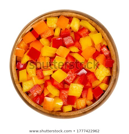 A bowl of oranges on a wooden block Stock photo © raphotos