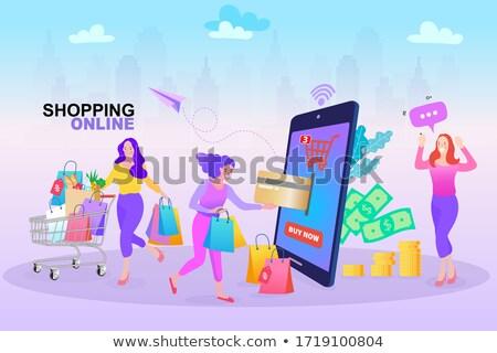 Consept of marketing process Stock photo © robuart