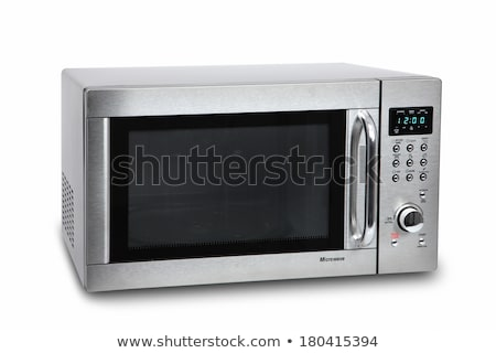 microwave oven isolated on white Stock photo © RuslanOmega