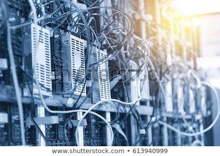 Eléctrica cables lío confuso Bangkok Tailandia Foto stock © smithore