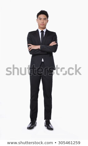 Cheerful businessman well dressed with arms out Stock photo © wavebreak_media