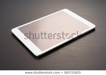 таблетка · телефон · месте · Desktop · workspace - Сток-фото © daboost