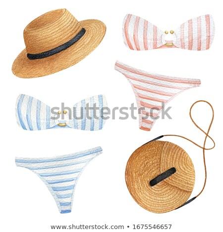 Brown bra and panties set. Stock photo © RuslanOmega