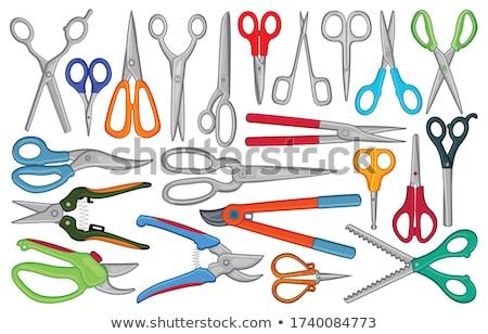 metal scissors stock photo © vapi