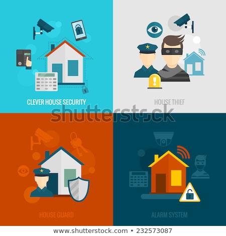 veiligheid · alarm · industriële · huis · home · deur - stockfoto © constantinhurghea